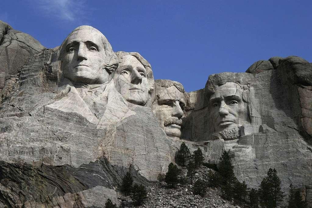 À droite, Abraham Lincoln, le 16e président des États-unis d'Amérique© Dean Franklin Wikimedia Commons, by CC 2.0