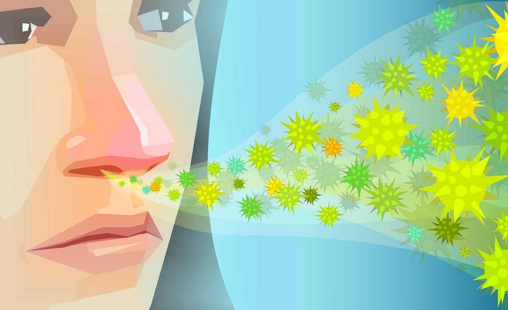 L'air froid et sec favorise la diffusion des virus par les aérosols. © Feodora, Adobe Stock