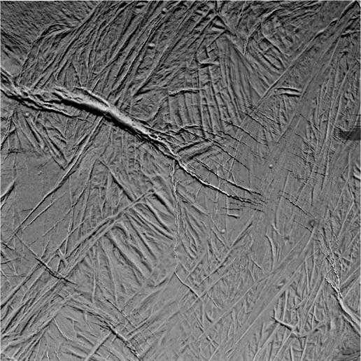 Surface d'Encelade