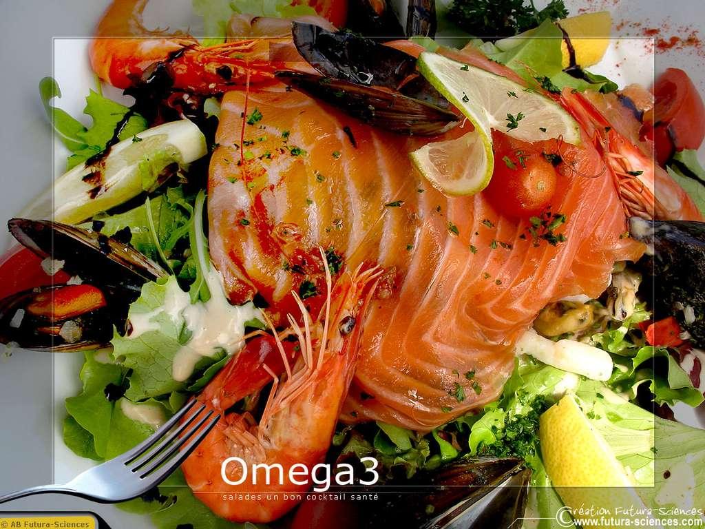 Saumon riche en omega3