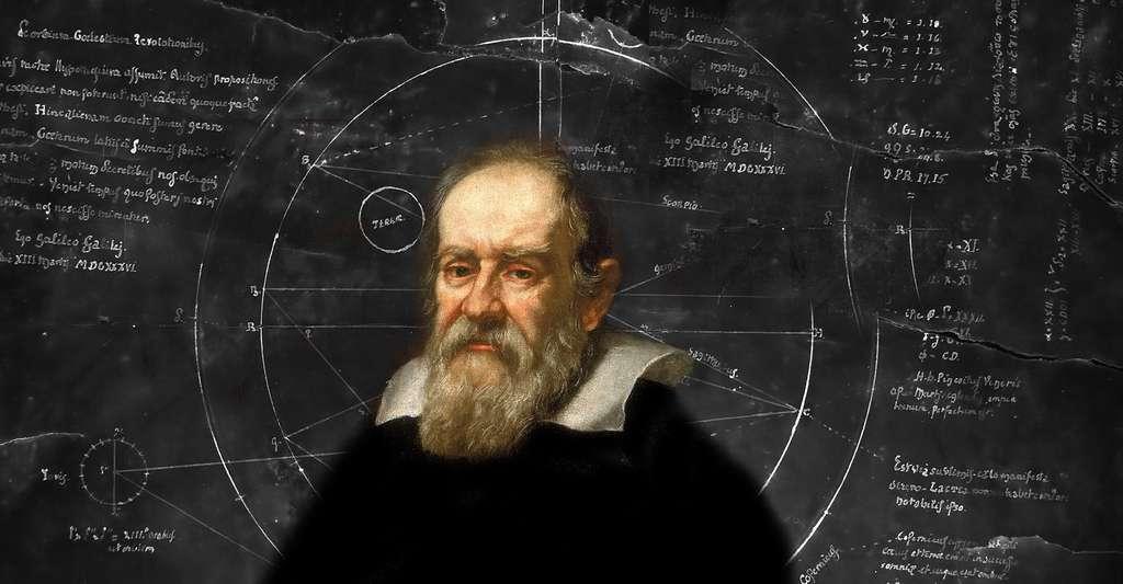 Matière : le continu, l'extensif et l'infini. Ici, Galilée. © Daniele Pugliesi, Wikimedia Commons, DP