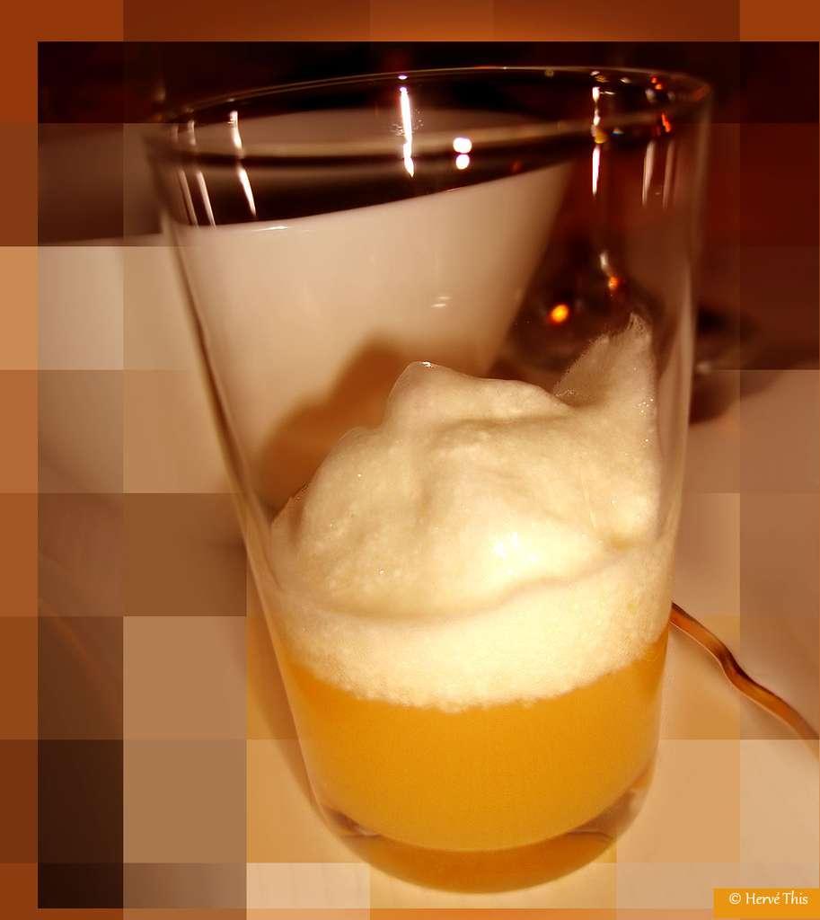 Chaptals : des mousses aux œufs et leur jus d'orange