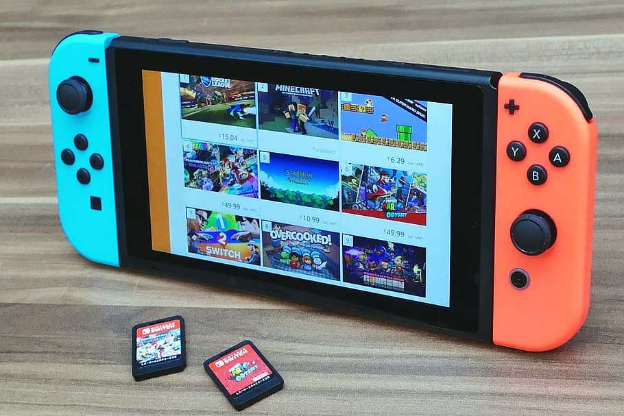La console Switch de Nintendo ©PxFuel