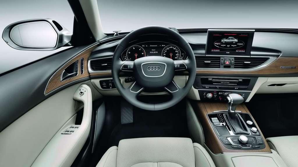 L'Audi A6, une berline de luxe