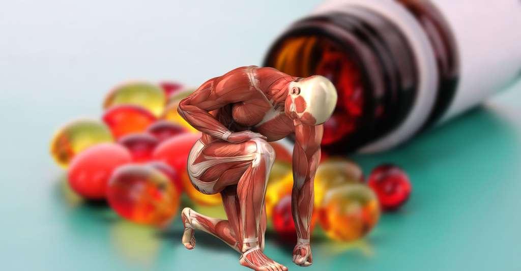 La traque aux molécules dopantes.© CLIPAREA l Custom media, Shutterstock