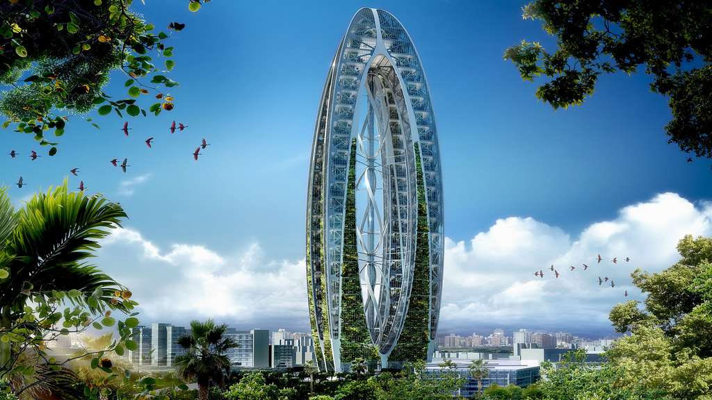 L'arche bionique de Taiwan : la nature à la verticale