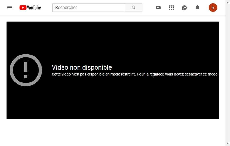Vos enfants ne peuvent plus accéder à des contenus inappropriés sur YouTube. © YouTube