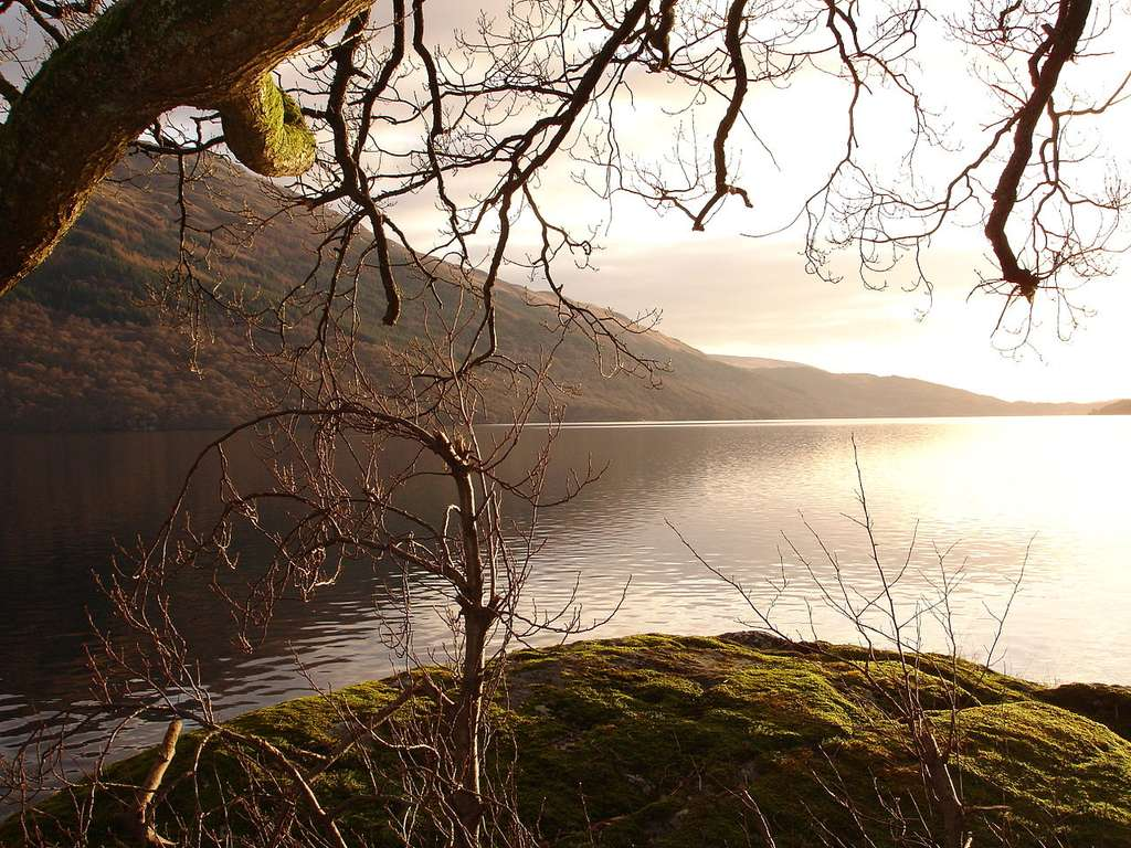 Le loch Lomond, le plus vaste loch d'Écosse