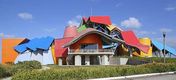 Le Biomusée dessiné par Richard Gehry. © Antoine, tous droits réservés