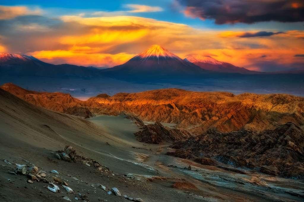 De la vallée de la mort au Licancabur