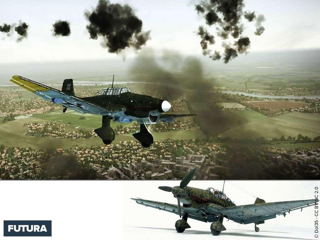 Stuka - Junkers Ju 87 « Sturzkampfflugzeug »