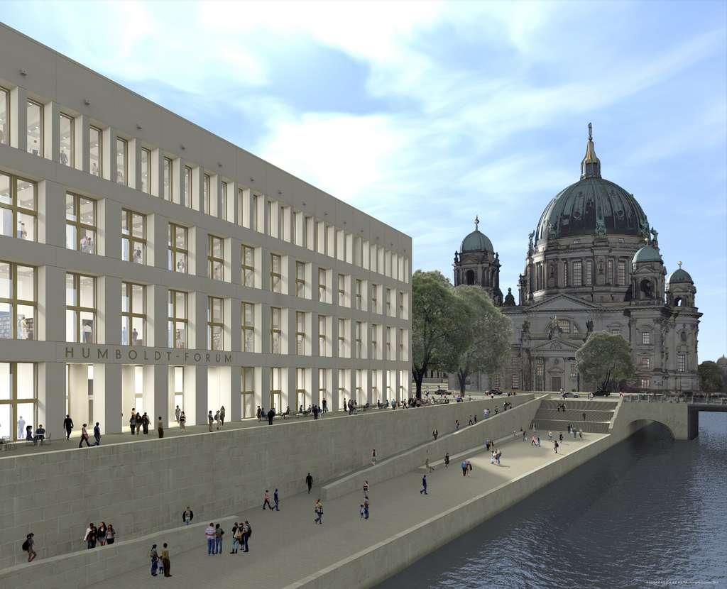 Le Humboldt Forum, à Berlin, se veut l'équivalent allemand du Louvre. © SHF, Architect-Franco Stella with FS HUF PG