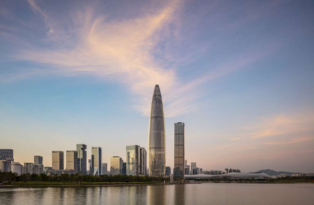 La China Resources Tower, à Shenzhen. © Tim Griffith