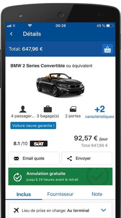 Carngo est un immense comparateur d'offres de location de véhicule. © www.carngo.com