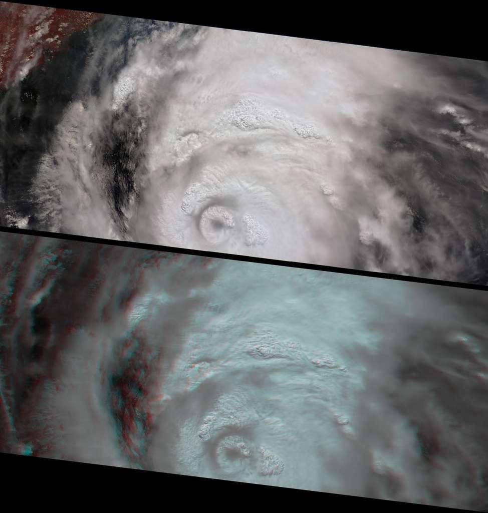 L'ouragan Katrina en 3D