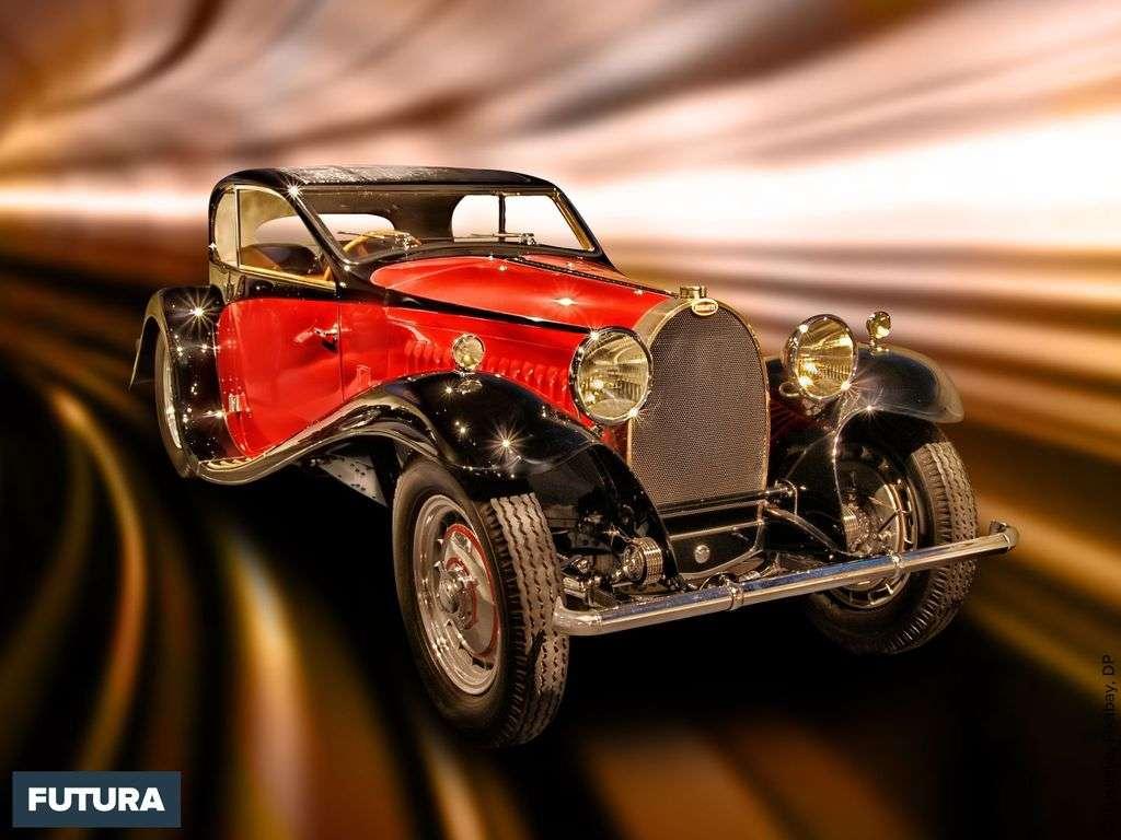 Bugatti Type 50 Coach Profilé produite entre 1931 et 1933