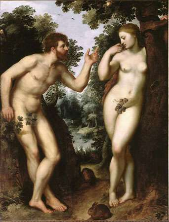 Adam et Ève, de Rubens. © DR