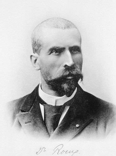 Émile Roux n'a pas directement développé de vaccin, mais est resté célèbre pour avoir réalisé le premier sérum antidiphtérique. © IHM, Wikipédia, DP