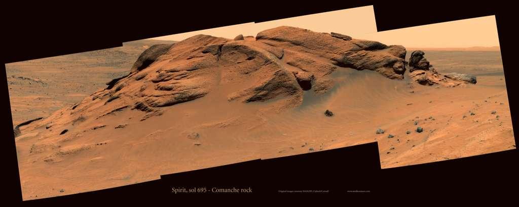 Spirit : le roche Comanche