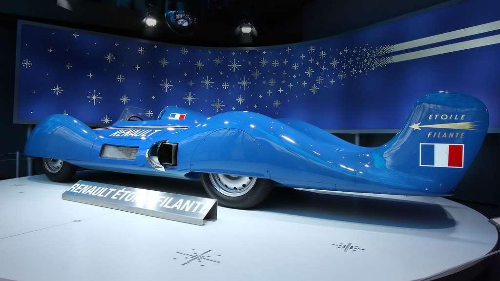La Renault Étoile filante, un véhicule expérimental