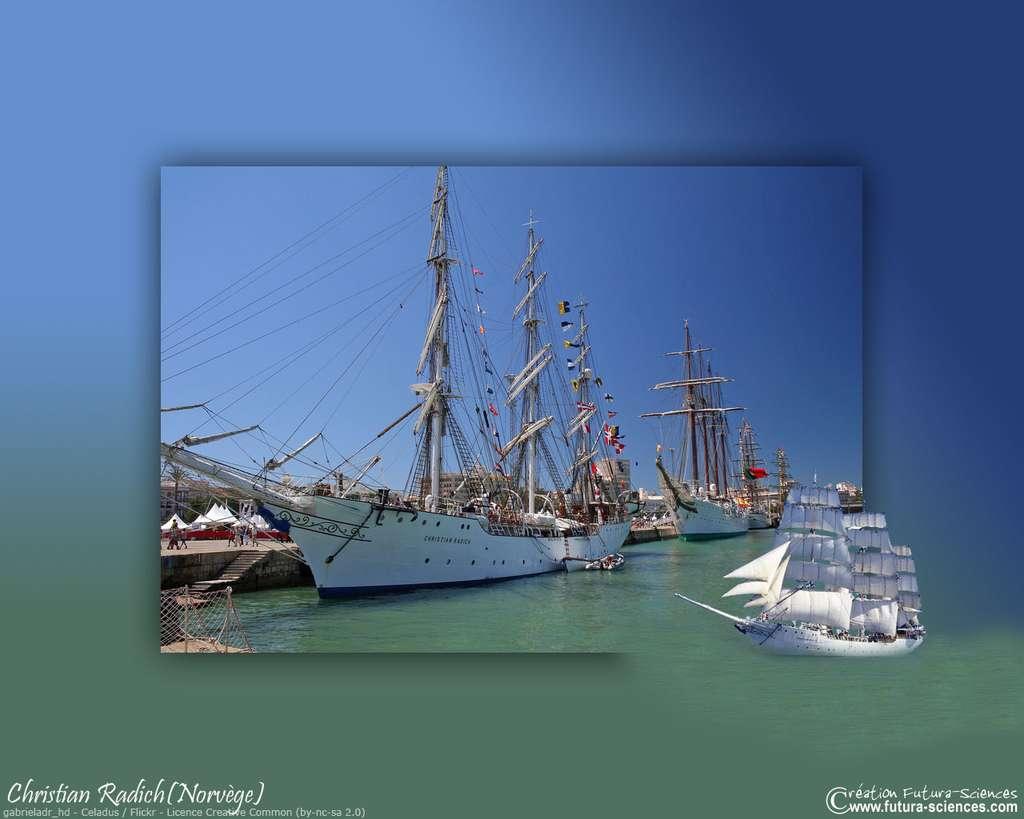 Le Christian Radich, un majestueux bateau norvégien