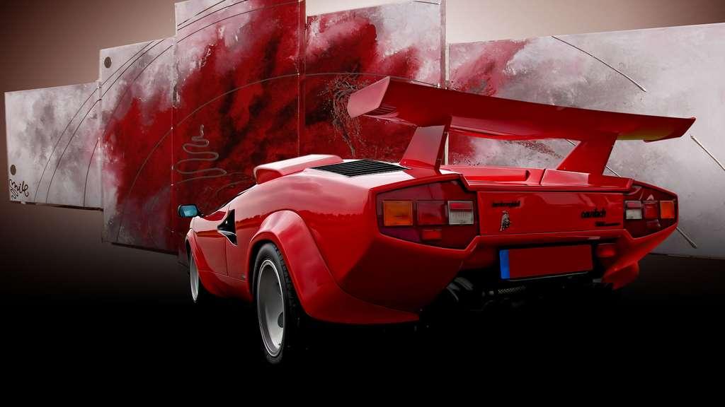 La Lamborghini Countach et son moteur V12