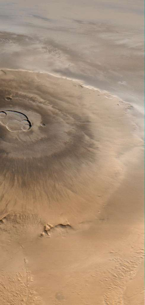 Olympus Mons sur Mars