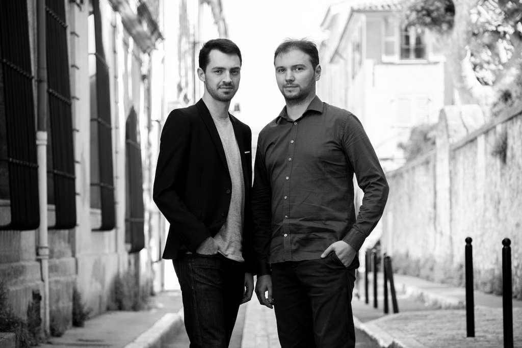 Pierre-Jacques Lyon et Thomas Boullier, les fondateurs de Marklix. © Marklik SAS