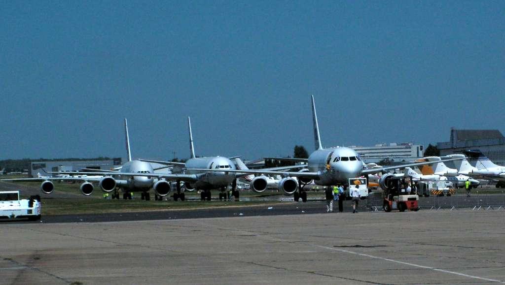 Les avions Airbus au Bourget