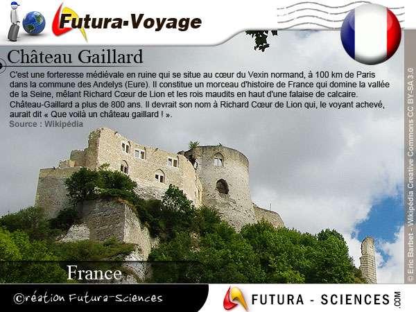 Château Gaillard forteresse médiévale