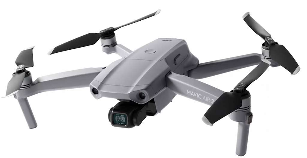 Dedicated to the general public, the Mavic Air 2 goes upmarket and is closer to the professional versions of the drone.  © DJI