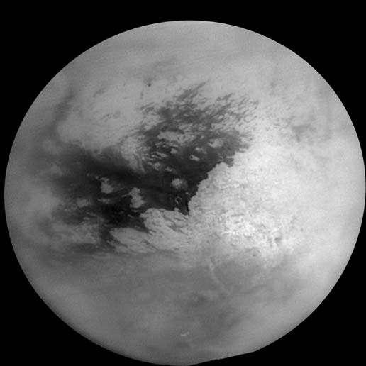 Nouvelle mosaïc d'images de la surface de Titan