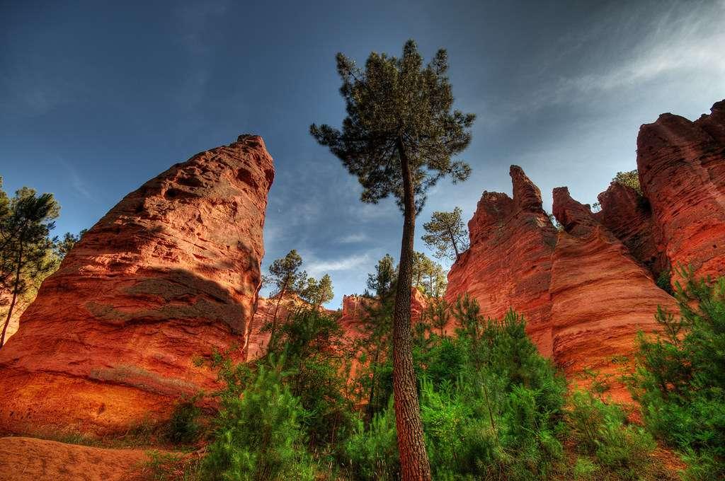 Rustrel est surnommé le «Colorado provençal». © Markus Fleute