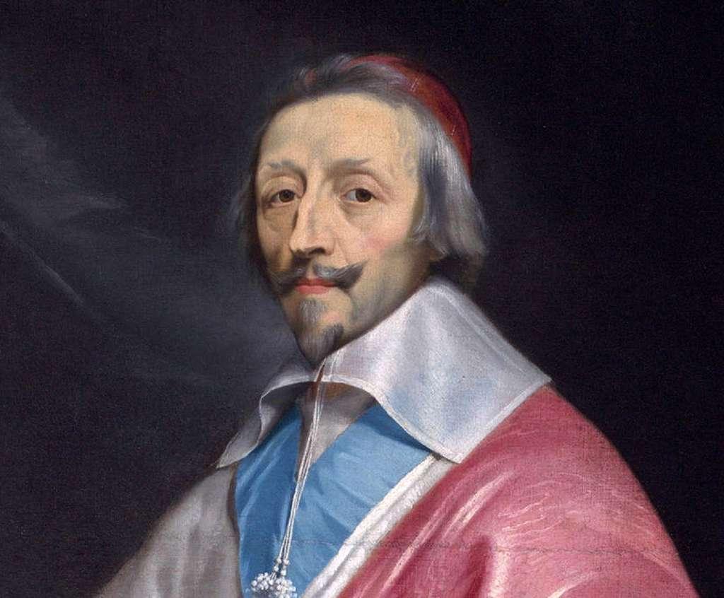 Portrait (détail) du cardinal de Richelieu par Philippe de Champaigne, entre 1633 et 1640. National Gallery, Londres. © Wikimedia Commons, domaine public