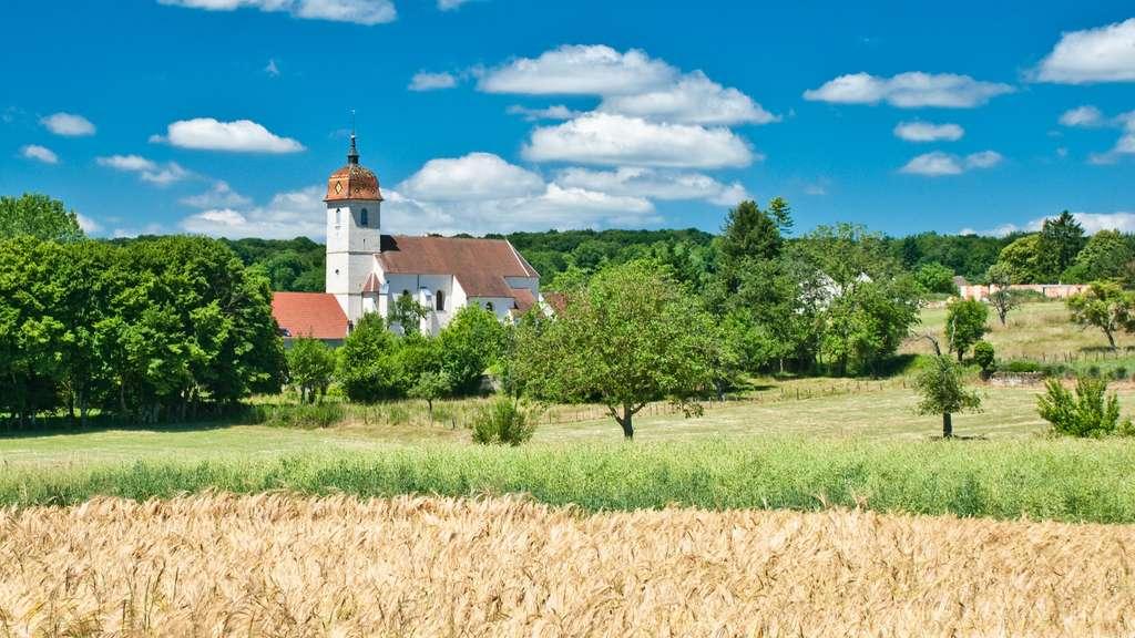 La commune de Renaucourt, en Haute-Saône. © Olivier Poncelet, Fotolia