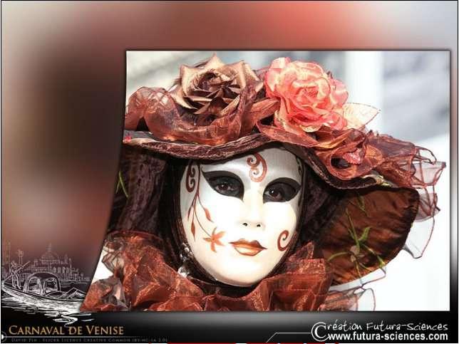 Cliquez sur chaque fond d'écran pour décorer votre ordinateur aux couleurs du Carnaval de Venise