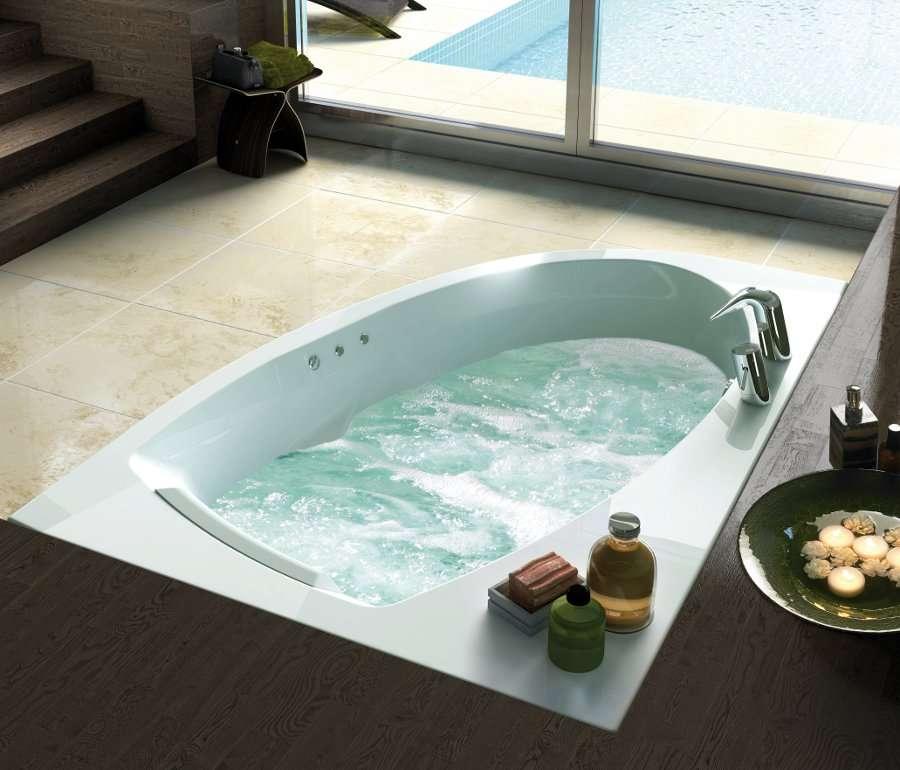 Un petit moment dans une baignoire balnéo, rien de tel pour se relaxer... © Jacuzzi