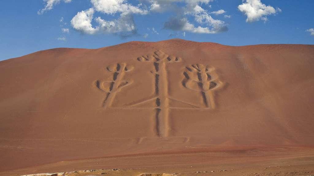 Le Chandelier de Paracas au Pérou