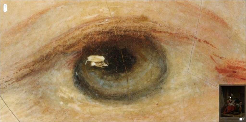 Un détail du même tableau de Madame Vigée-Lebrun... © Google