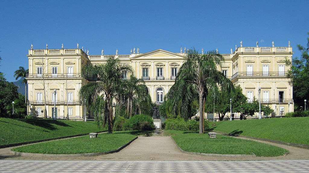Le Musée national de Rio était le plus important d'Amérique latine. © Halley Pacheco de Oliveira, CC BY-SA 3.0, Wikimedia Commons