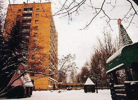 Le quartier résidentiel de la Cité des Etoiles. (Crédit : Capcomespace)