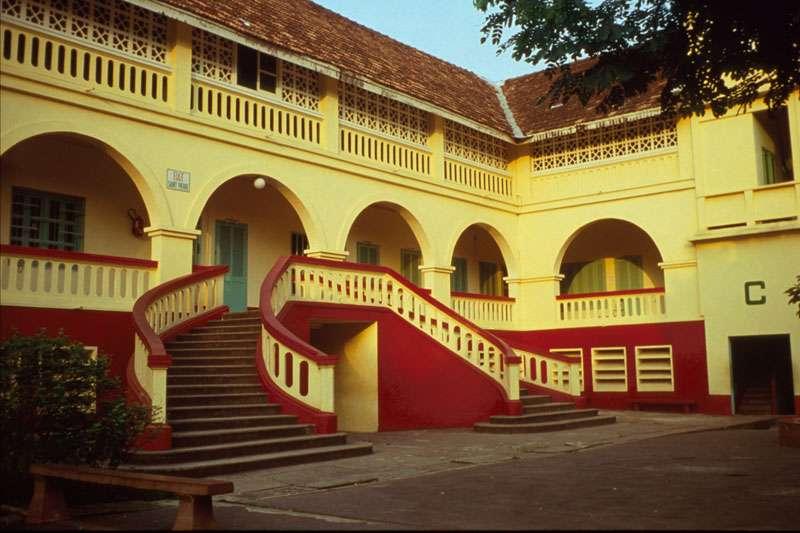L'architecture coloniale à Abidjan, en Côte d'Ivoire