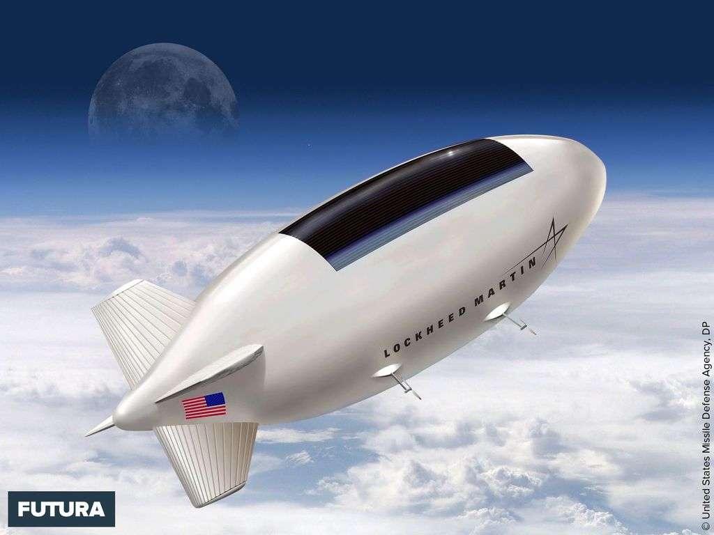 Protoype d'un ballon High Altitude Airship (HAA) Lockheed Martin