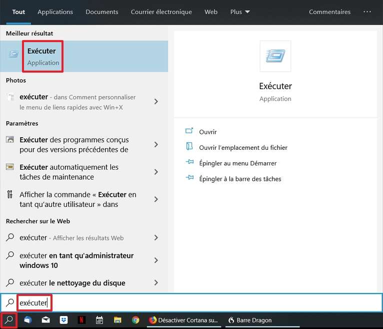 Comment désactiver Cortana sous Windows 10 ?