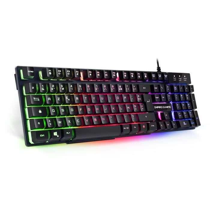 Empire gaming clavier semi mécanique © Cdiscount