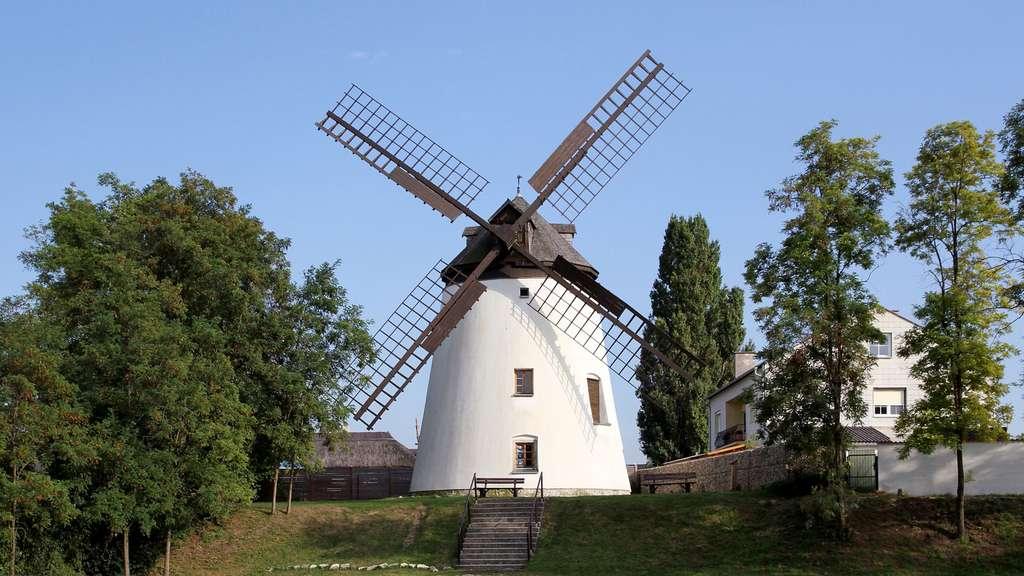 Le moulin à vent de Podersdorf am See, Autriche