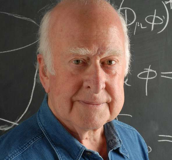 Peter Higgs, l'un des physiciens à l'origine du mécanisme de Brout-Englert-Higgs expliquant la masse des particules élémentaires. © Peter Tuffy-The University of Edinburgh