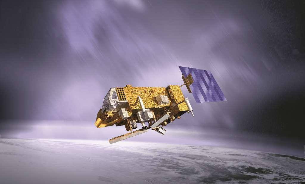 MetOp-A est une famille de trois satellites météorologiques de l'Esa et Eumetsat. © Esa, Eumetsat, CC by-nc 2.0