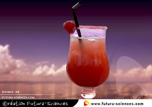 Cocktail de fruits vitaminé