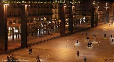Lumières réactives à Saragosse
